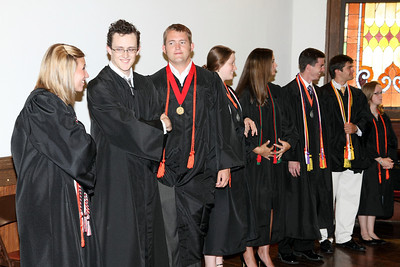 2010 Honor's Hooding Ceremony May