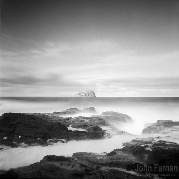 Bass Rock from Seacliff