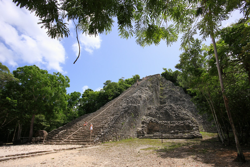 The Ixmoja pyramid