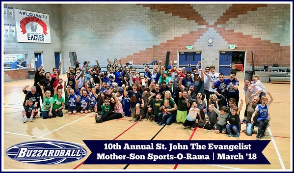 MARCH 23RD, 2018 | St. John the Evangelist Mother-Son Sports-O-Rama