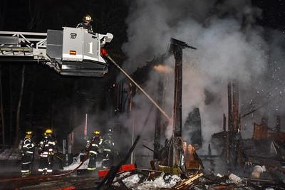 2 Alarm Structure Fire - Hyde St, Winchendon, Ma - 2/11/21