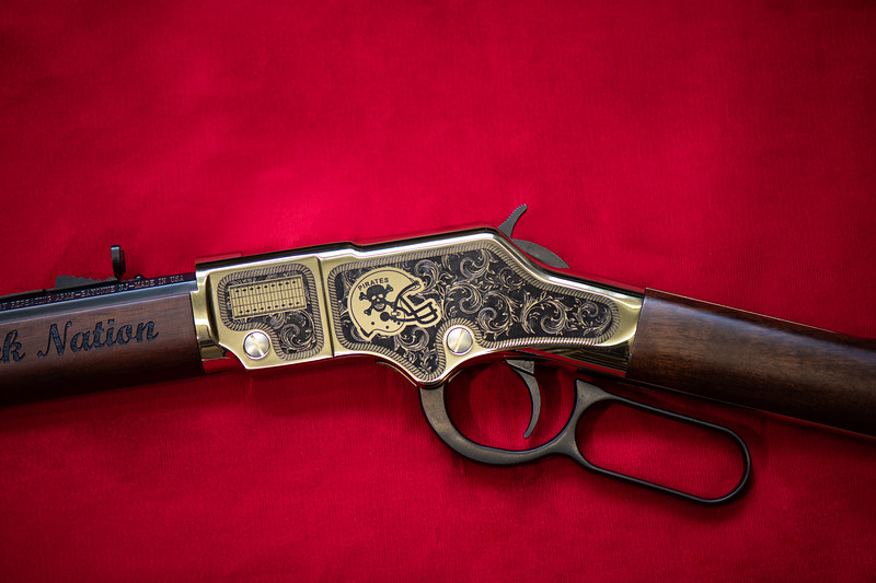 Henry Golden Boy Deluxe Engraved Rifle Belfry Championship Edition