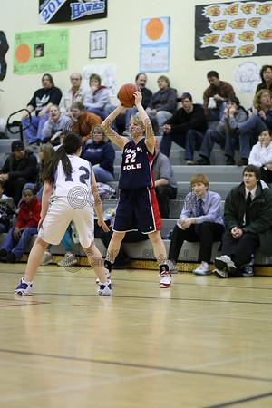 Varsity Girls Hutch vs North Pole Feb 6 2009