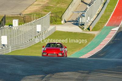 #9 Red Porsche 911 GT3
