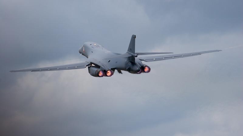 85-0090, B-1, Lancer, RIAT 2007, Reheat, Rockwell, US Air Force