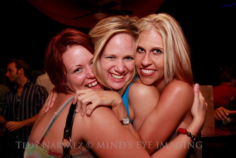 Marie (L), Rhoda & Audra (R)