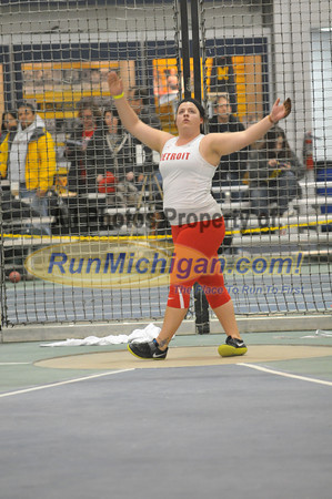 Women's Weight Throw - 2013 Silverston Invitational