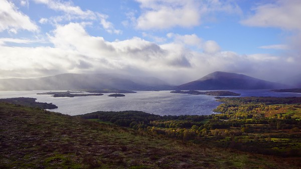 Conic Hill Shot 22nd October 2017
