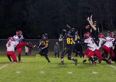 Overtime Set two: Vashon Island High School Football v Port Townsend