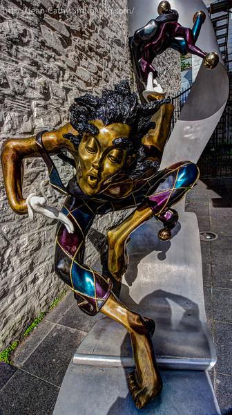 Life Size Street Art!