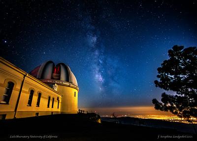 Lick Observatory, Mt Hamilton