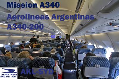 Mission A340 - Aerolineas A342 (2010)