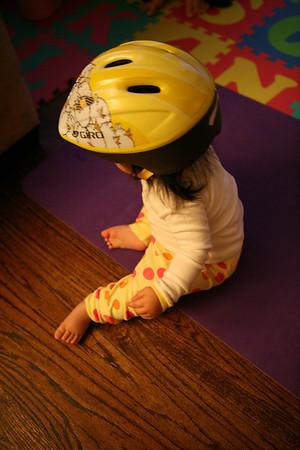 Leah's Bike Helmet