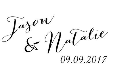 Jason and Natalie