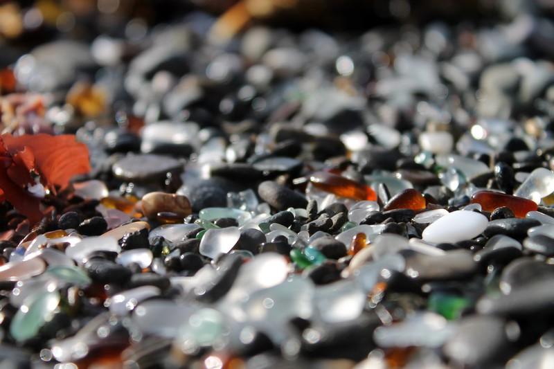 Ft Bragg Sea Glass Beach Series 12