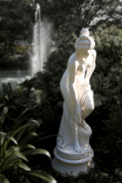 Houmas House has an abundance of beautiful statuary offering an incredible array of photographic opportunities