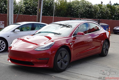 Tesla Model 3 - Multi-Coat Red 3