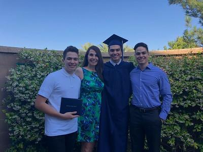 Graduación de Diego 2018