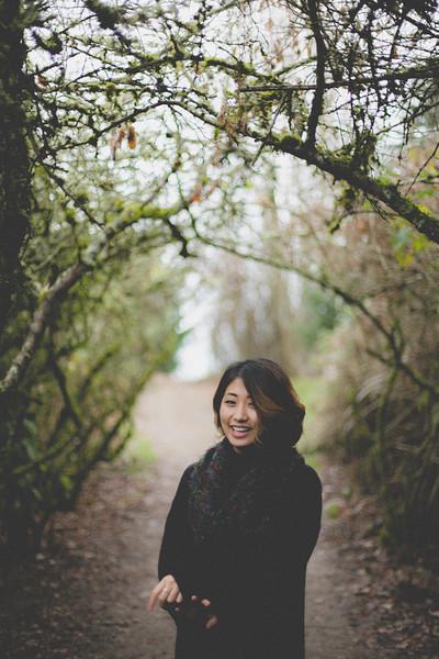 Lauren in Discovery Park