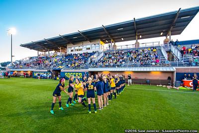 9-2-16 Michigan Women's Soccer Vs Ole Miss
