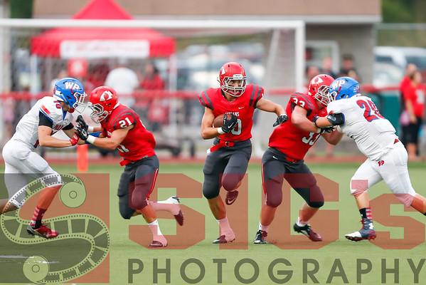 09-04-15 BHS Varsity Football vs Wheeling Park