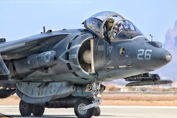 USMC Harriers