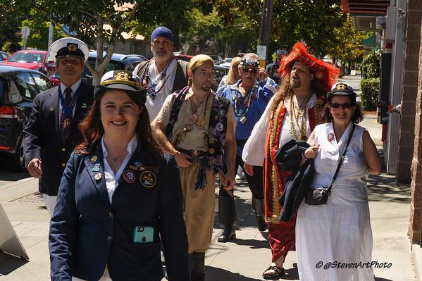 2016 Seafair Pirates and Clowns at Magnolia Starbucks Seattle