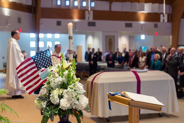 Col. Peter J. Stewart Funeral Mass