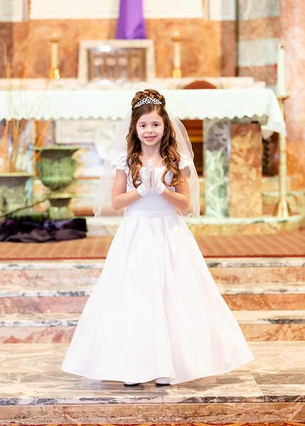 Olivia's First Communion-Church