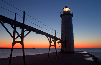 Michigan Lighthouse Guide - Manistee