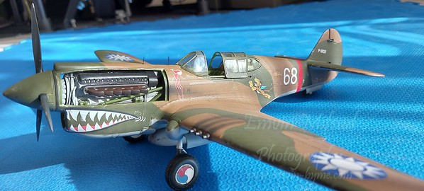 Curtiss P-40 Flying Tigers.