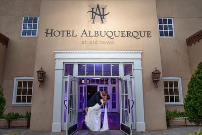 Beautiful Old Town Hotel Albuquerque September Wedding