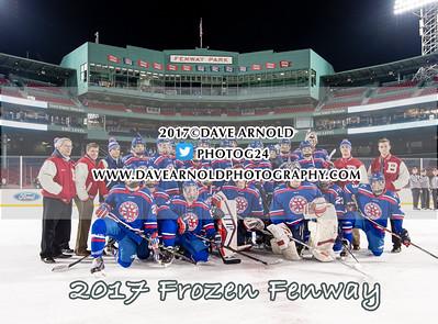 1/11/2017 - Boys Varsity Hockey - Frozen Fenway - Burlington vs Arlington