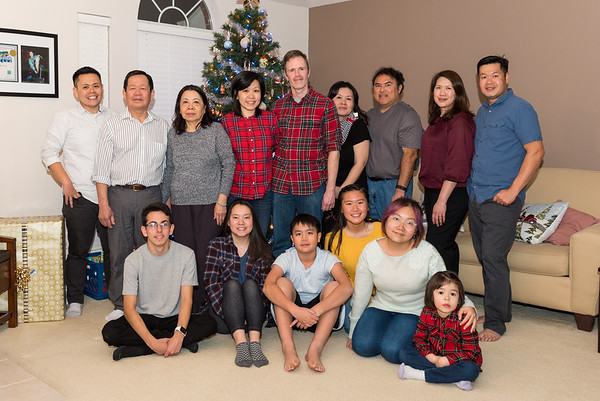 Christmas 2018 Vo Family