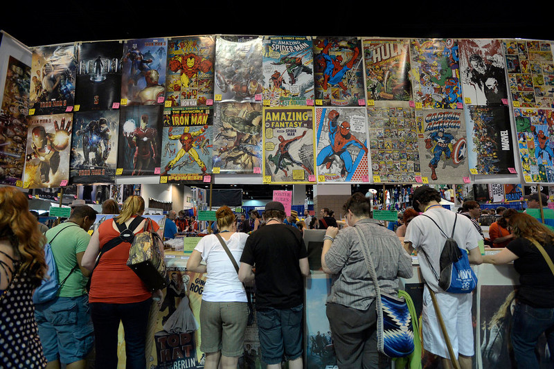 . More than 45,000 flooded the convention floor for the Denver Comic Con June 2, 2013 at the Colorado Convention Center. The convention ended its three day marathon with an appearance by William Shatner. (Photo By John Leyba/The Denver Post)