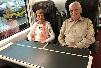 Aboard the Eurostar