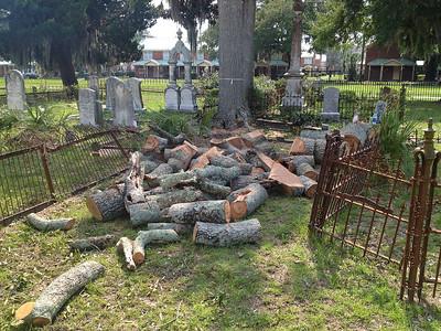 Oak Grove Cemetery Damage 08-26-15