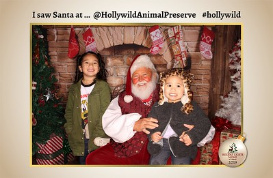 Hollywild Santa Photos - 122419