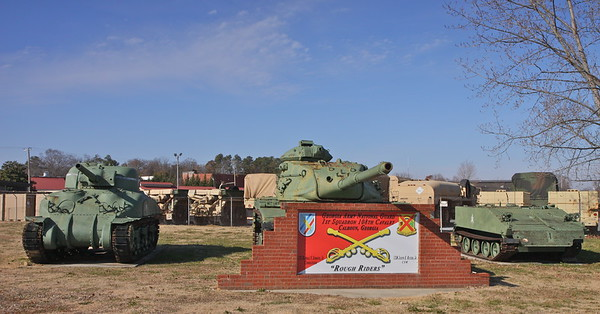 Georgia VFW, American Legion, Veterans Parks, Monument Vehicles