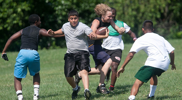 ProPower Football Camp:  Friday, June 24, 2011 (end of the day games)