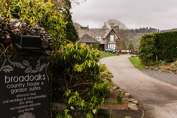 Phill and Sharon - BroadOaks Country House , Lake District