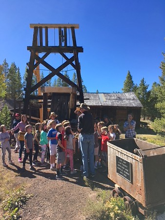Third Grade history trip to Leadville Fall 2018