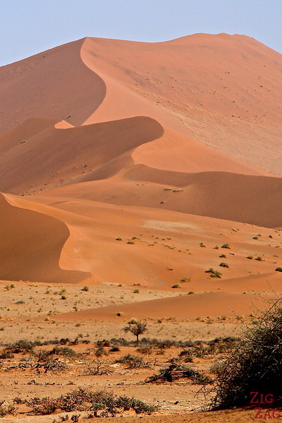Sossusvlei, walk in the sand dunes, Namibia photo 3