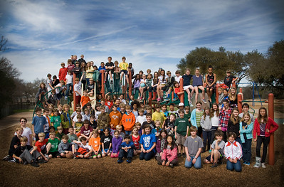 Fifth Grade Group Photo