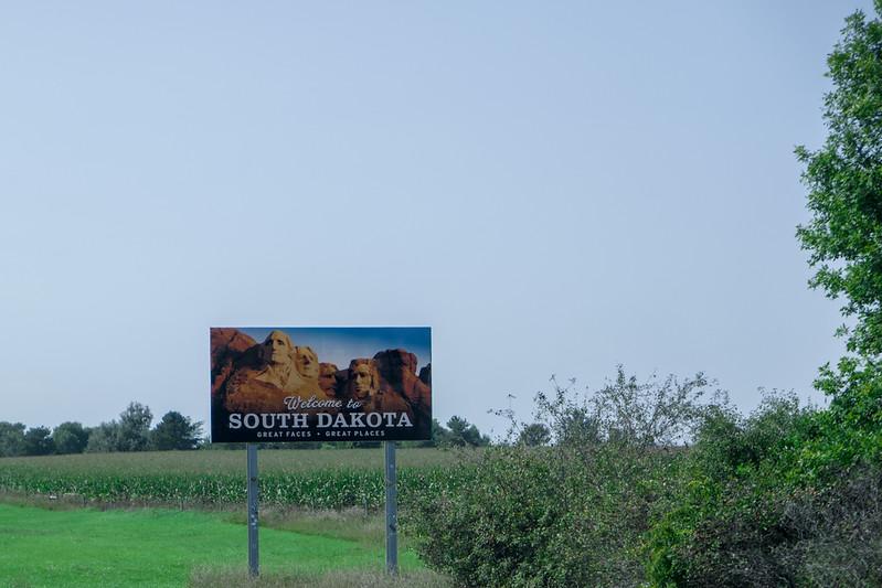 South Dakota Border