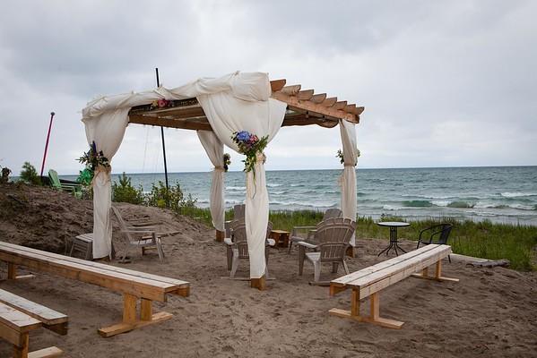 S + D Wedding Arbor/Beach