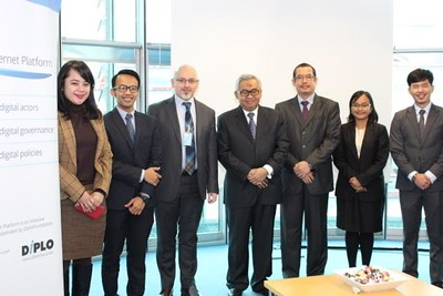 Briefing with Delegation of Indonesian Ministry of Foreign Affairs, Feb 2016