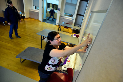 Photos: Boulder COVID Recovery Center Opens at East Boulder Recreation Center