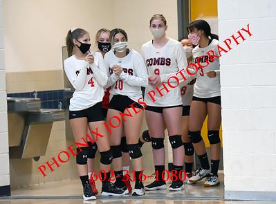 9-21-2020 - Combs v Coronado - Varsity Volleyball
