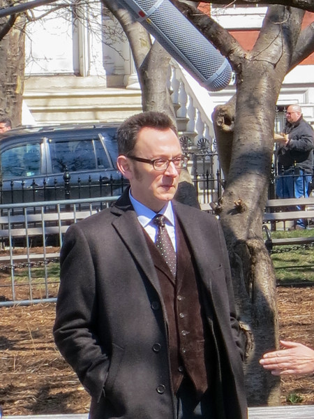 Person of Interest (TV series) filming in New York - March 20, 2013